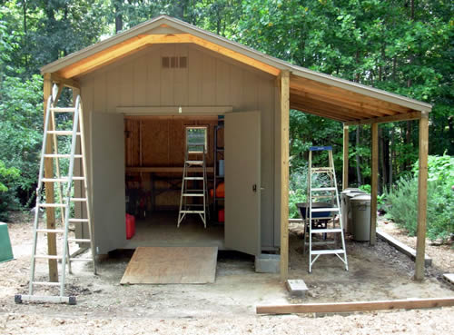 Lean To Roof Lean To And Storage Sheds On Pinterest